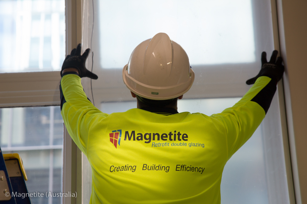 magnetite double glazing in martin place sydney