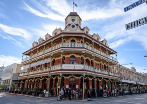 Freemantle's iconic hotel Magnetite its heritage windows