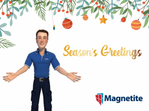 Season's Greetings and Magnetite Office Holiday Closure